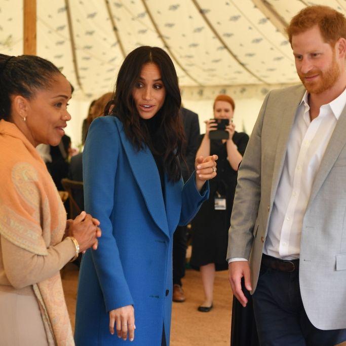 Schwiegermutter von Prinz Harry reist zur Geburt des Babys an (Foto)