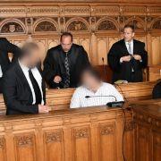 Lange Haftstrafen für Totschlag an 15-jährigem Syrer (Foto)