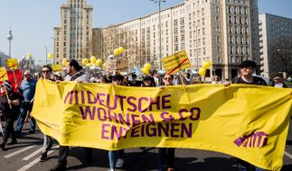Ein Volksbegehren hat sich in Berlin die Enteignung von Wohnungskonzernen auf die Fahnen geschrieben. (Foto)