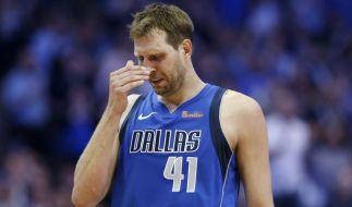 Dirk Nowitzki hängt seine Basketball-Karriere an den Nagel. (Foto)