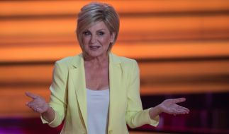 Carmen Nebel nimmt das Ende ihrer Show gelassen. (Foto)