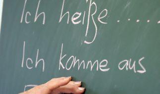 Zuwanderer sollen besser Deutsch lernen (Symbolbild) (Foto)