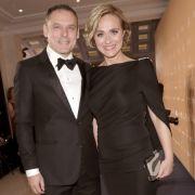 Caren Miosga mit ihrem Ehemann Tobias Grob.