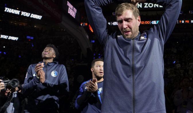 Dirk Nowitzkis letztes NBA-Spiel