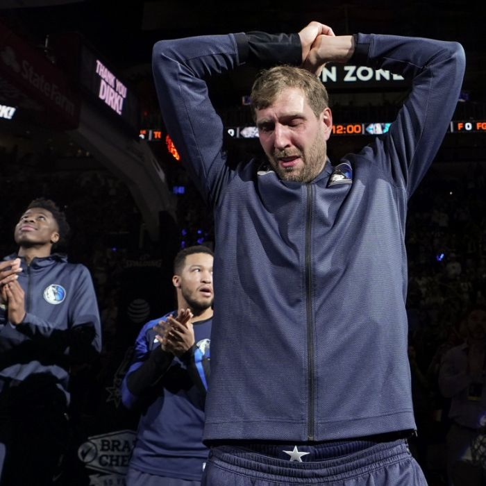 Emotionaler Abschied! Nowitzki beendet NBA-Laufbahn unter Tränen (Foto)