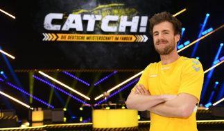 """Luke Mockridge hat """"CATCH! Die Deutsche Meisterschaft im Fangen"""" ins Leben gerufen. (Foto)"""