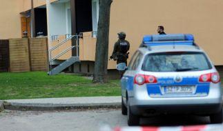 SEK stürmt Wohnung in Salzgitter (Foto)