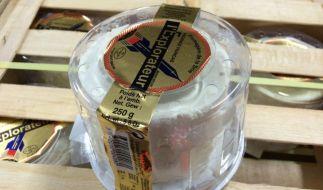 Doppelter Käse-Rückruf beiFromagère de la BRIE. (Foto)