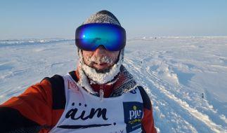 Clemens in der Arktis (Foto)