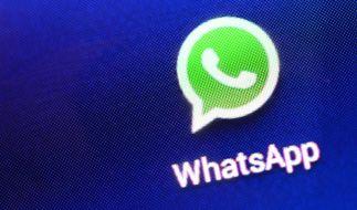 Nutzer klagen über Störungen bei WhatsApp. (Foto)