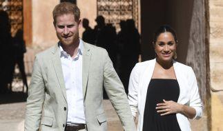 Prinz Harry und Meghan Markle freuen sich auf ihr gemeinsames Kind. (Foto)