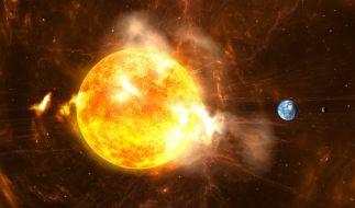Ein Mega-Sonnensturm könnte unsere Zivilisation auslöschen. (Foto)