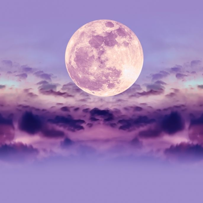 Pink Moon erhellt den April! Strahlt der Mond in Rosa? (Foto)