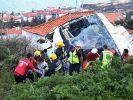 Auf der portugiesischen Atlantikinsel Madeira stürzt ein Reisebus in die Tiefe. (Foto)