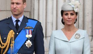 Prinz William und Kate Middleton müssen sich mit Affären-Gerüchten herumärgern. (Foto)