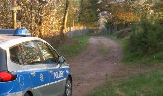 Im thüringischen Geschwenda wurde in der Nacht eine Babyleiche in einem Waldstück gefunden. (Foto)