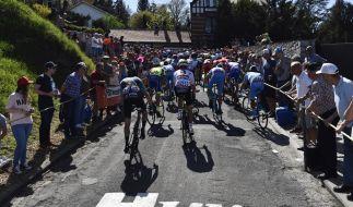 Beim Flèche Wallonne 2019 müssen die Radsportler195,5 Kilometer zurücklegen. (Foto)