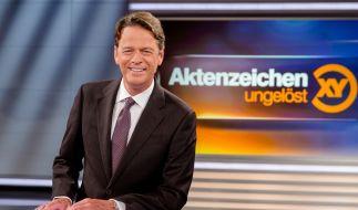 """""""Aktenzeichen XY... ungelöst""""-Moderator Rudi Cerne bittet wieder um Ihre Mithilfe. (Foto)"""