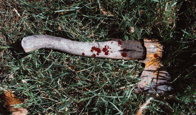 Brutaler Axt-Mord