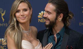 Tom Kaulitz hat nur Augen für seine Heidi. (Foto)