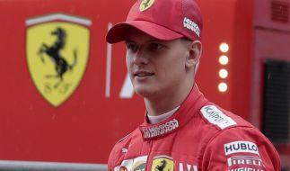 Mick Schumacher ist bereit für das Rennen in Baku. (Foto)