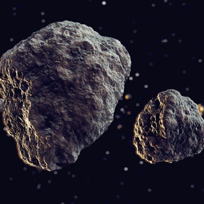 Potenziell gefährlich! HEUTE rast Doppel-Asteroid auf die Erde zu (Foto)
