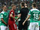 Knifflige Elfmeter-Szene macht Bremen wütend. (Foto)