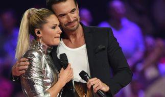 Helene Fischer und Florian Silbereisen sind auch nach ihrer Trennung noch gut befreundet. (Foto)