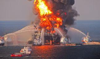 Umweltkatastrophen: Die brennende Deepwater Horizon (Foto)