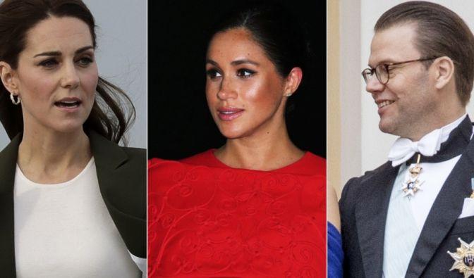 Meghan Markle, Kate Middleton, Prinz Daniel