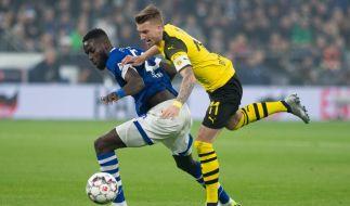 Das Revierderby zwischen Dortmund und Schalke wird zur Nervenschlacht. (Foto)