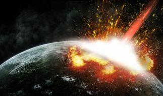 In einem Planspiel will die NASA herausfinden, wie gut die Behörde auf die Entdeckung eines tödlichen Asteroiden vorbereitet ist. (Foto)