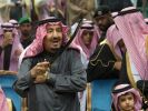 Saudischer König Salman bei einer Kulturveranstaltung (Foto)