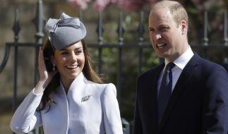 Kate Middleton und Prinz William sind seit dem 29. April 2011 verheiratet. (Foto)