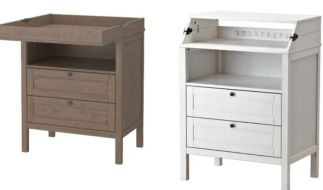 """Ikea ruft diesen """"Sundvik""""-Wickeltisch zurück. (Foto)"""