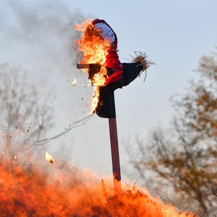 Macht die Waldbrandgefahr die Hexenfeuer zunichte? (Foto)