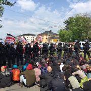 Linke verlangen Aufklärung zu Neonazi-Marsch in Plauen am 1. Mai (Foto)