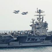USA schicken Flugzeugträger Richtung Mullah-Regime (Foto)