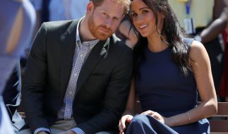 Prinz Harry und Meghan Markle sind stolze Eltern eines Jungen. (Foto)