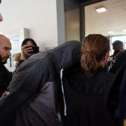 Angeklagter schweigt in Prozess um Tötung von Frau und drei Kindern (Foto)