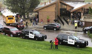 Bei einem Angriff auf eine Schule in Colorado kam mindestens ein Schüler ums Leben. (Foto)