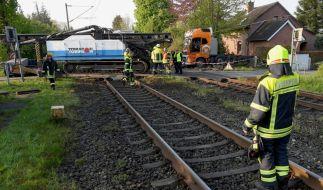 Bei einem Bahn-Unfall in Schleswig-Holstein wurden mindestens 20 Personen verletzt. (Foto)