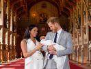 Erster Blick auf Baby Sussex - Meghan und Harry zeigen ihr Kind. (Foto)