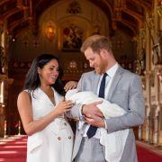 Baby Archie wird KEIN Prinz! Das bedeutet der Name von Harrys Sohn (Foto)