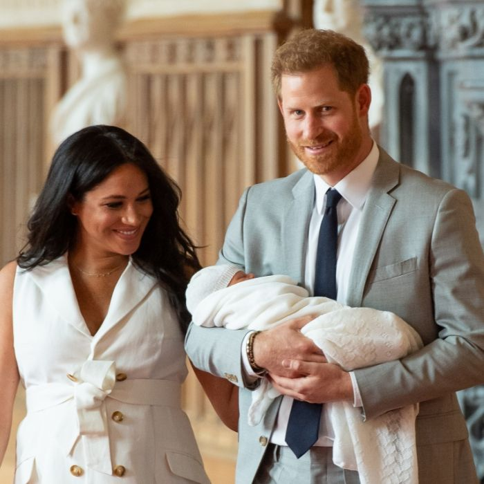Herzogin Meghan sauer! SO gemein spottet die Welt über Baby Archies Namen (Foto)