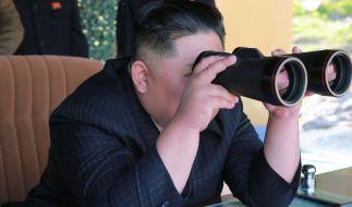 Kim Jong Un testete erneut Langstreckenraketen. (Foto)