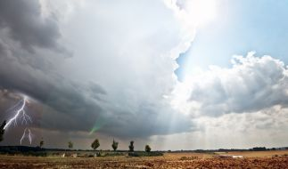 Wetter-Chaos in Deutschland. (Foto)