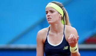 US-Tennisspielerin Nicole Gibbs leidet an Speicheldrüsenkrebs. (Foto)