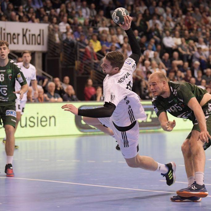 26:22 gegen Berlin: Kiels Handballer holen vierten EHF-Pokal-Sieg (Foto)