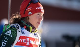 Laura Dahlmeier beendet ihre Biathlon-Karriere. (Foto)